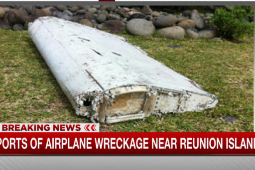 Reports of plane wreckage near French island