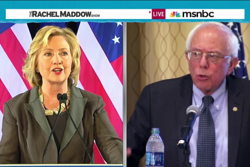 Democratic primary increasingly interesting