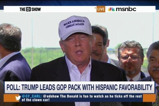 Trump surges ahead of first debate