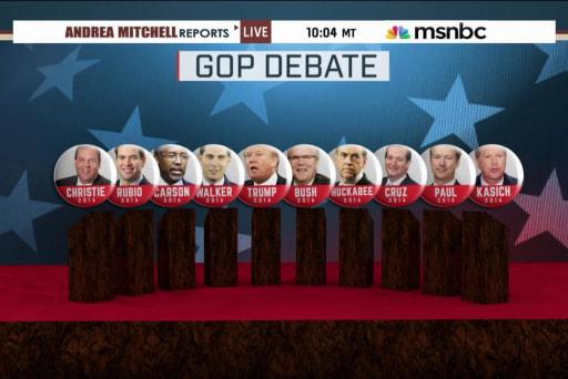 GOP candidates prepare for national spotlight