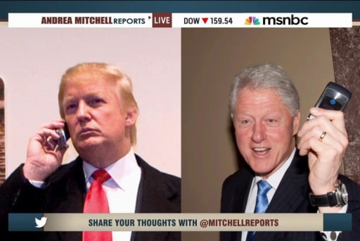 The story behind the Clinton-Trump phone call