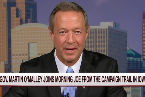 O'Malley: Clinton server news not productive
