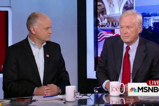 Matthews: 'Trump is on to something'