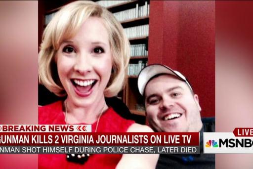 Reporter, cameraman shot dead in Virginia