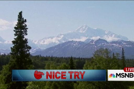 US mountain renamed 'Denali'