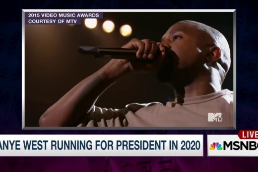 Your picks for Kanye's 2020 campaign slogan
