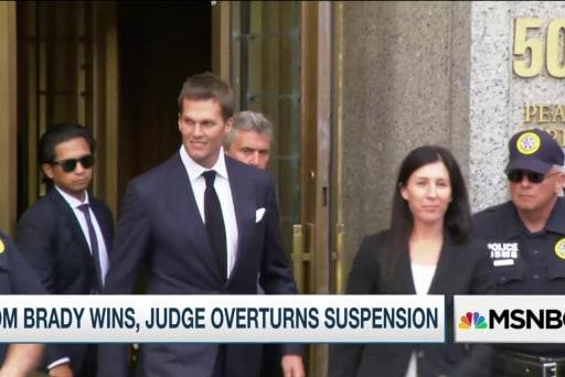 Tom Brady wins, judge overturns...