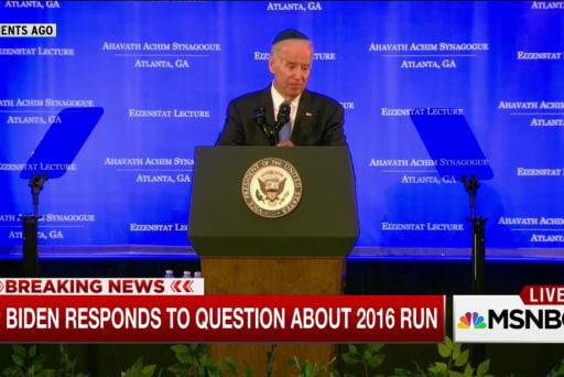 Biden run hinges on family
