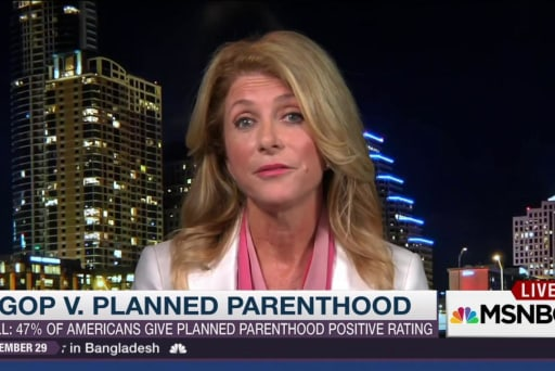 Wendy Davis on Planned Parenthood's...