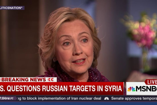 How would Clinton and Trump respond to Syria?
