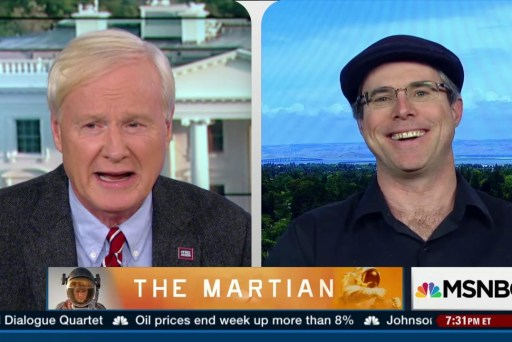 """Creating the world of """"The Martian"""""""