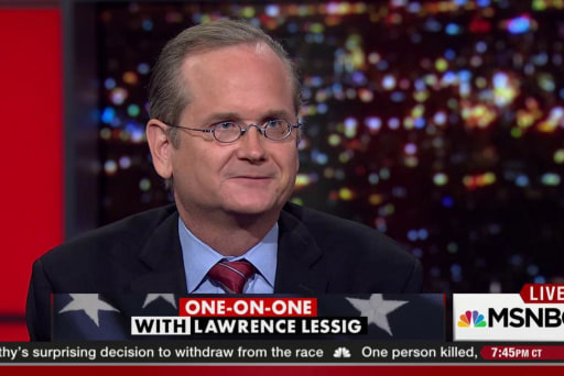 Lawrence Lessig wants to debate