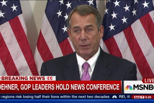 GOP leaders reach a budget agreement