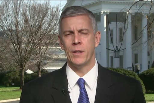 Arne Duncan on fix to 'No Child Left Behind'
