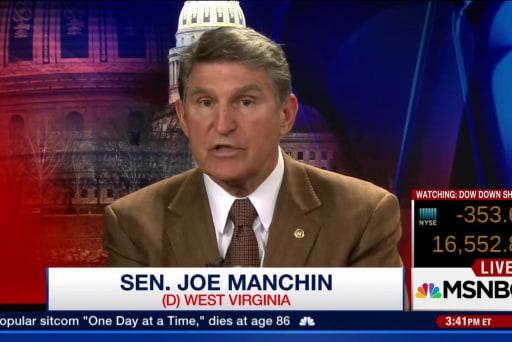 Manchin: Obama needs to work harder on guns