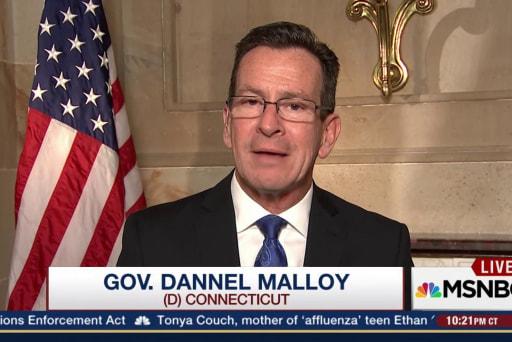 Malloy demurs on vice presidential interest