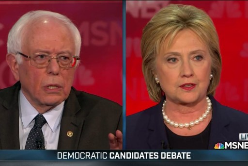 Clinton, Sanders discuss 'Iranian aggression'