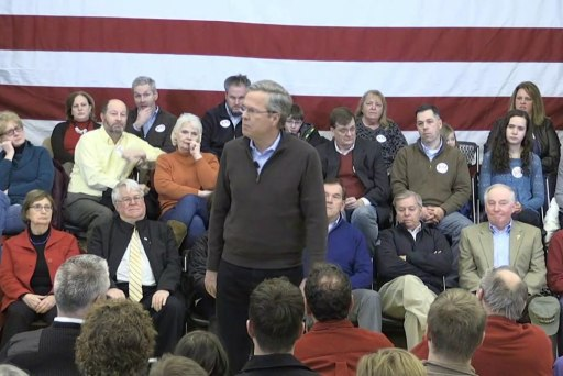 Jeb Bush: 'People are struggling'