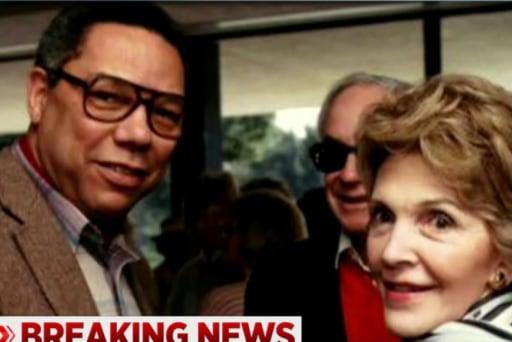 Colin Powell on Nancy Reagan's influence