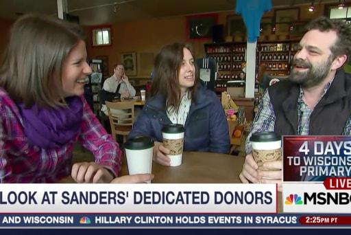 Meet Bernie Sanders' Dedicated Donors