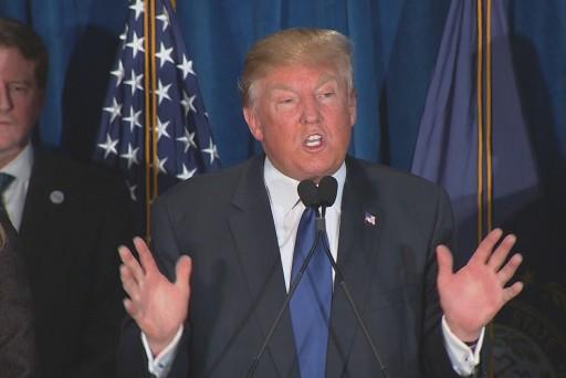 Watch Donald Trump's Full NH Primary Speech