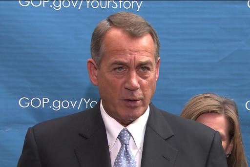 Boehner 'seriously' a broken record