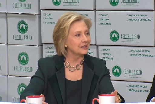 Hillary Clinton campaign wraps up Iowa trip
