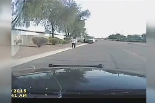Officer uses cruiser to ram suspect