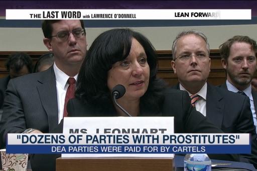 Report: DEA sex parties started in 2001