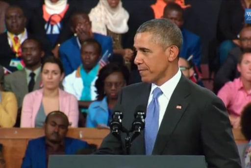 Pres. Obama tackles women's rights in Kenya