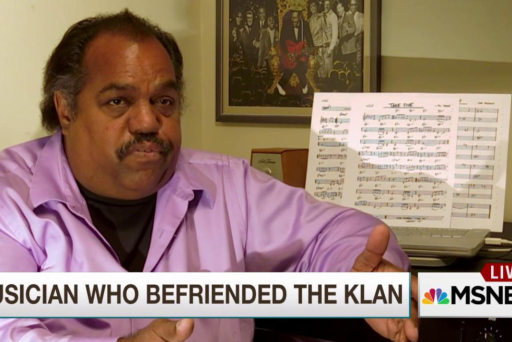 Why one musician befriended the KKK