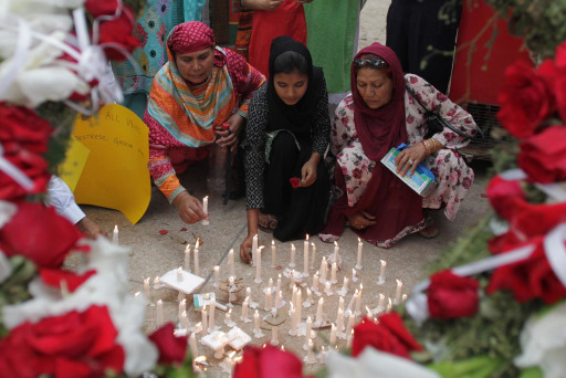 Victims send a message to Lahore terrorists