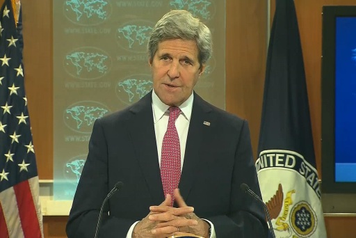 Kerry takes jab at Trump for torture remarks