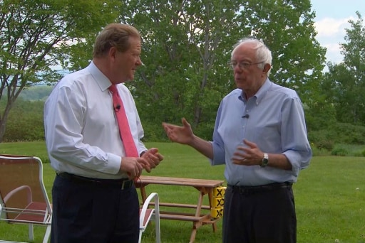 Bernie Sanders discusses his 2016 campaign