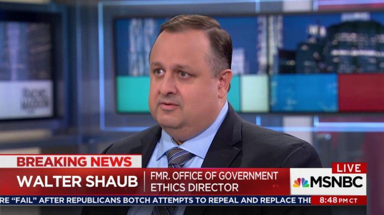 Walter Shaub on the Rachel Maddow Show