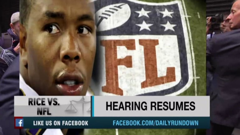 Ray Rice hearing resumes