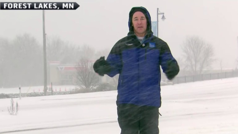 Arctic blast hits the Midwest