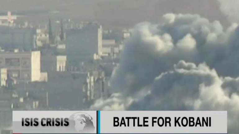 Battle for Kobani deadlocked