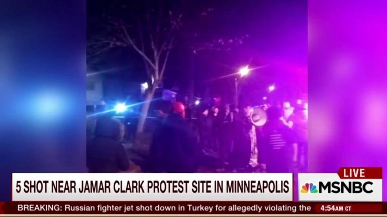 Five shot near Jamar Clark protest site