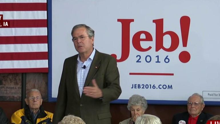 Jeb Bush on a female VP