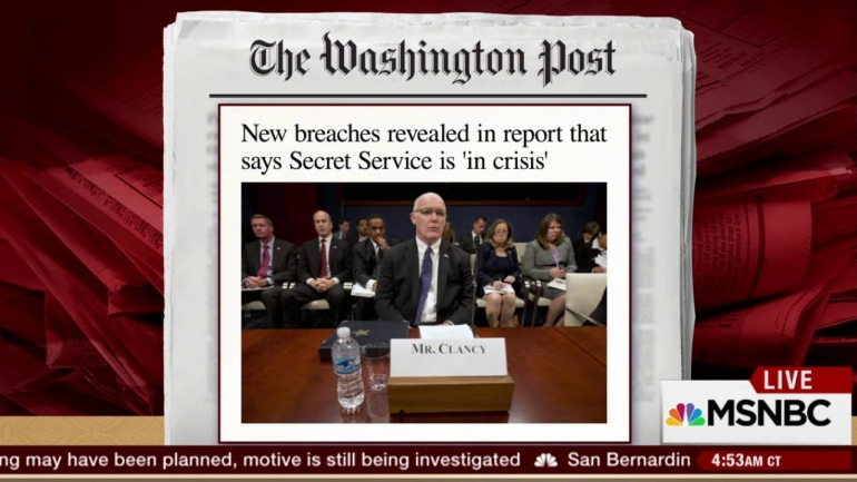 Secret Service in crisis according to report