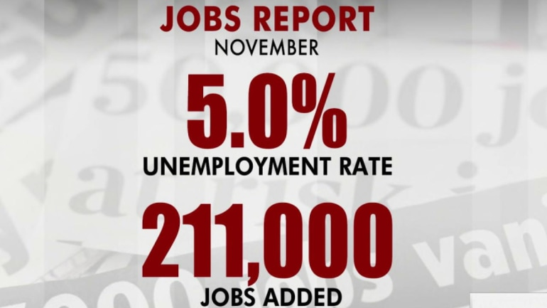 Solid jobs report for November