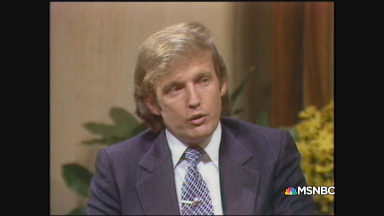 Donald Trump Younger Years A 33- year -old trump talks nyc real estate ...