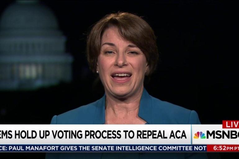 Democrats wait for struggling GOP health bill