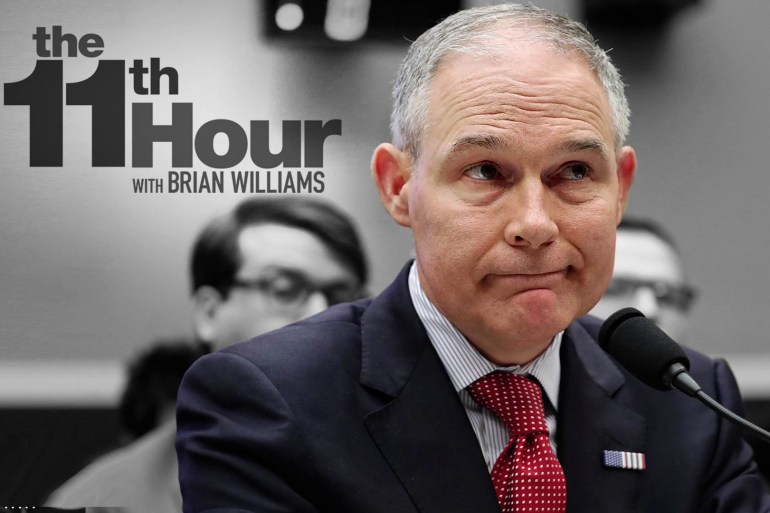 EPA boss Pruitt dodges blame during heated hearings on Capitol Hill