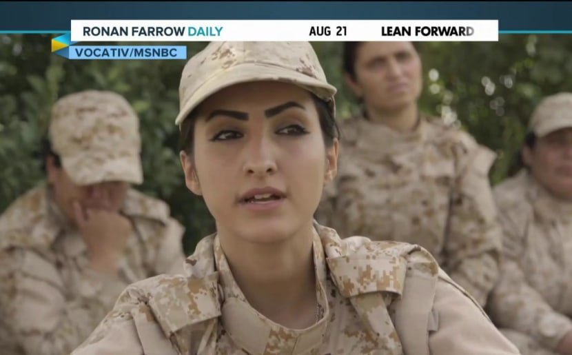 Meet the women warriors fighting ISIS