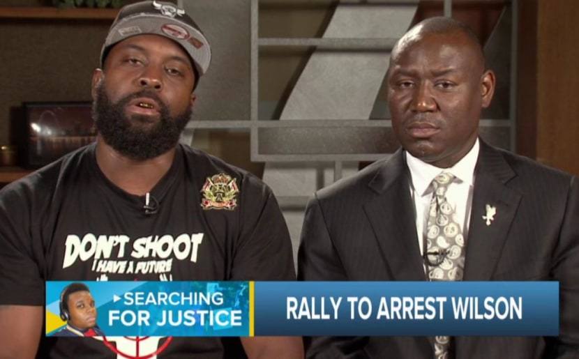 Michael Brown Sr: 'Keep my son in your voice'
