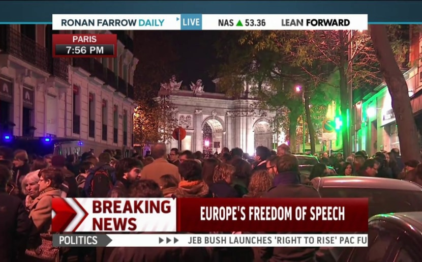 Paris Attack: Free Press in the Crosshairs