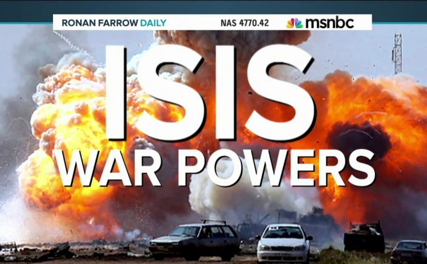 ISIS: A question of new war powers