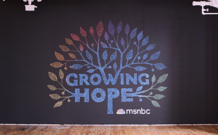 Growing Hope: Hope grows